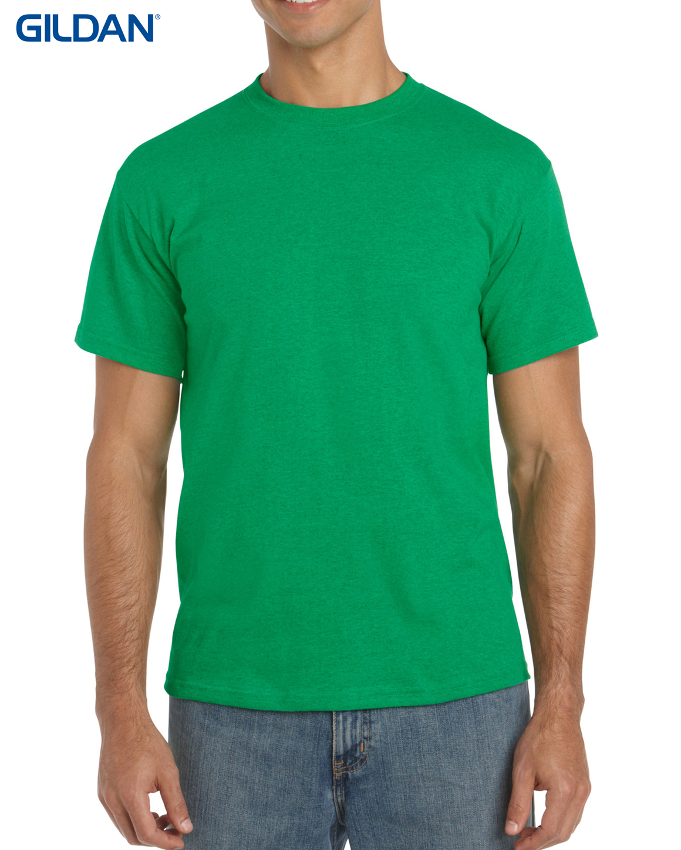 T shirts gildan mens 180gm 100 cotton cn t shirt g5000 for Green mens t shirt