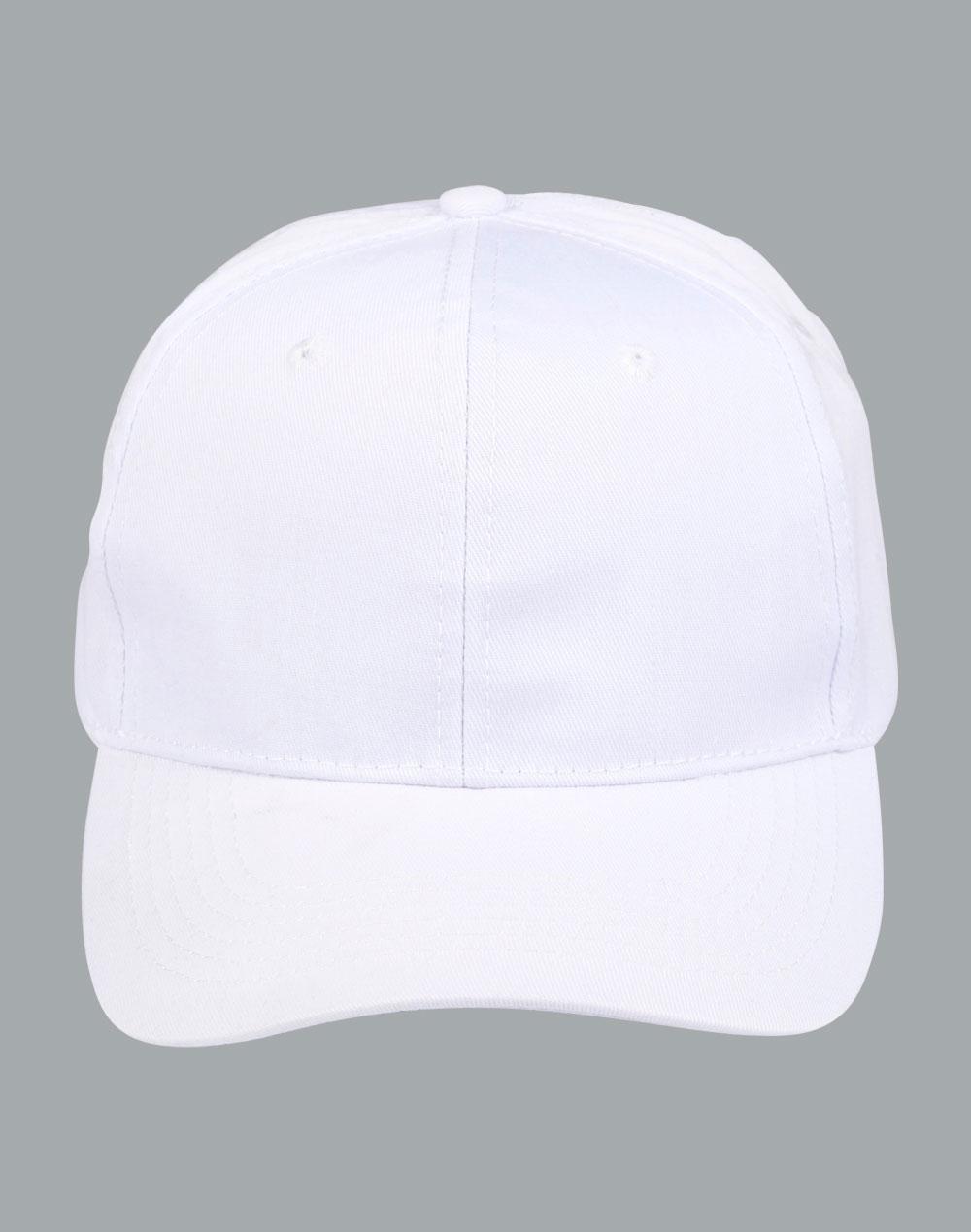 Caps : PLAIN COTTON TWILL CAP CH13